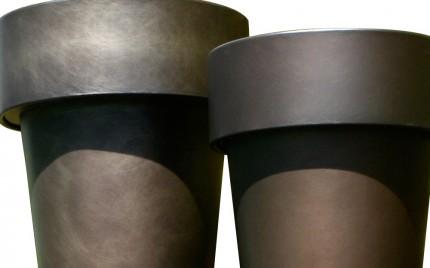 De Castell - Omega métal bruni détail