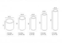 De Castelli Cohiba dimensions