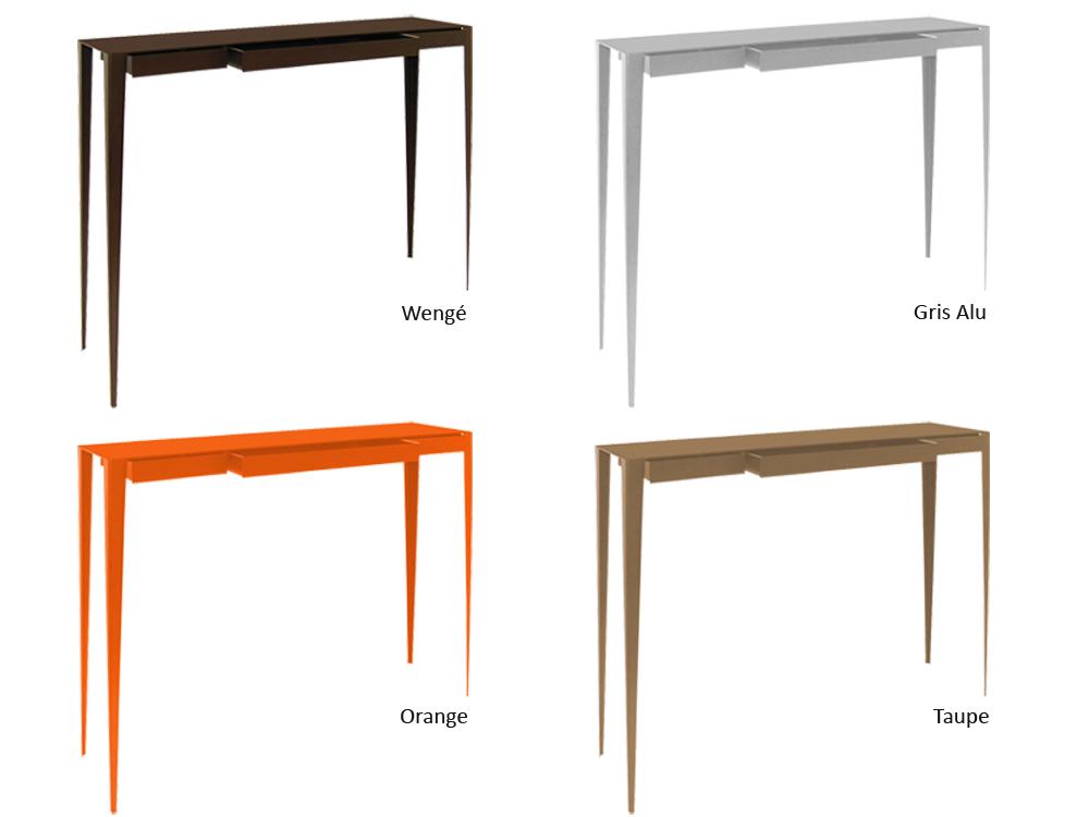 Hd home design grande soeur tiroirs console afd - Console couleur taupe ...