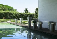 De Castelli Omega Inox jardin