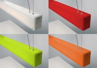 Arturo Alvarez Norman suspension blanche_Rouge_Vert_Orange