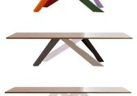 Bonaldo Big Table couleurs pieds