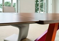 Bonaldo Big Table noyer détail allonge