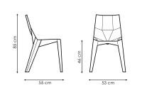 Bonaldo Poly dimensions