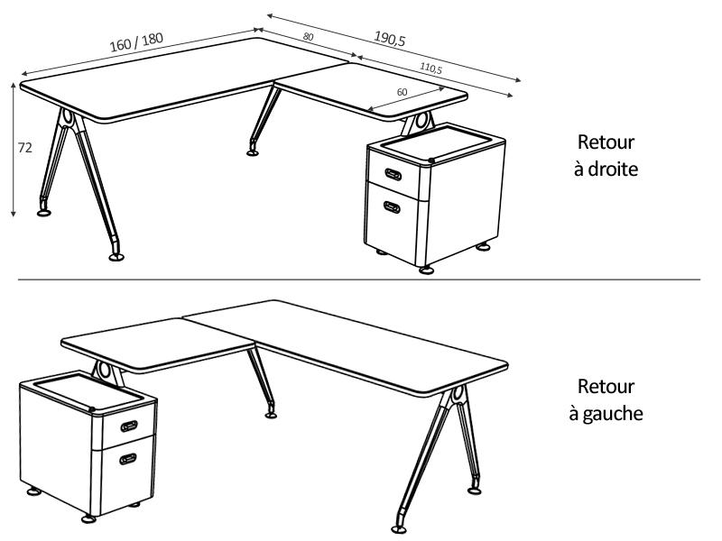 retour bureau pictures. Black Bedroom Furniture Sets. Home Design Ideas