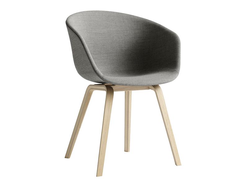 Hd home design aac23 tissu lots de 2 chaises hay - Chaises en tissus design ...