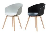 hd home design aac22 pieds ch ne lot de 2 chaises hay. Black Bedroom Furniture Sets. Home Design Ideas