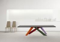 Bonaldo Big Table 300 couleurs pieds2