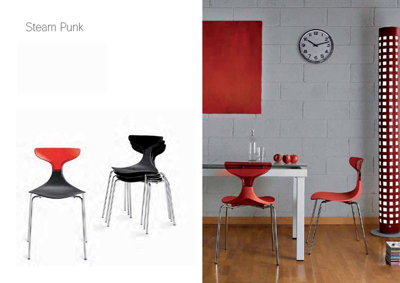 HD STEAMlot de Home designPUNK 4 chaises Green – N8nw0m